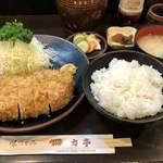 117972268 - 2019.10.19  大ロースカツ定食