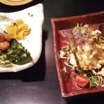 酒と肴 Shin - 料理写真:漬物、ポテトサラダ♡