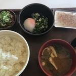 すき家 - 料理写真:まぜのっけごはん朝食350円(2019.9.14)