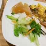 森のロマン亭 - 野菜ブュッフェ