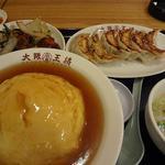大阪王将 - 料理写真:定食 1000円でこのボリューム!