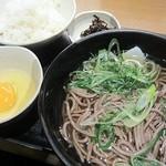 麺家兵庫 - 朝定食300円(そば)
