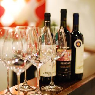 イタリアワインの品揃えは満足