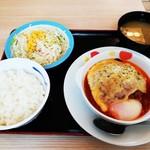 松屋 - 料理写真:うまトマチーズハンバーグ定食