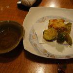 博多 一梅 - 天ぷらセット