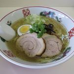 麺や 豊吉 - 塩ラーメン(550円)