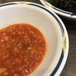 117990767 - ソースもサラダ皿だと食べやすいです(個人的感想)