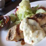 きなり食堂 - 天然真鯛のポワレ