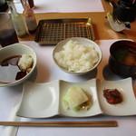 博多天麩羅 きんのたかお - きんのたかお定食