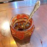有夏茶房 - 自家製ラー油   これ美味しい
