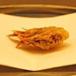 くすのき - 車海老の頭 海老塩で