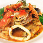 イタリア厨房 KUNISHIMA - 鮟鱇のブイヤベース風