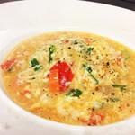 イタリア厨房 KUNISHIMA - 色々きの子のスープパスタ