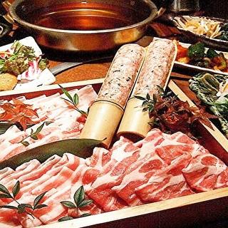 【厳選】豚しゃぶしゃぶの季節到来☆各種宴会にもご利用頂けます