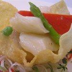 白金亭 - 柚醤炒双鮮・海鮮2種の炒め