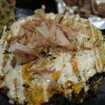お好み鉄板焼き とんぼ - 牛筋ネギ焼き