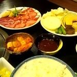 11800841 - 野菜(400円)塩タン