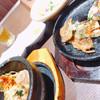 韓美膳DELI - 料理写真:石焼ビビンパとチジミ