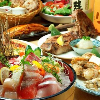 豊洲市場直送新鮮海鮮料理