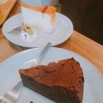 カフェ ルオント - ガトーショコラと チーズケーキ