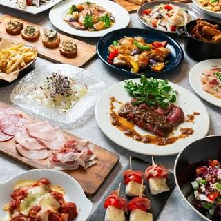 【イタリア料理で忘年会(貸切可)】少人数から団体様まで