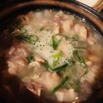 串もんDiningくしべえ - 元祖 塩もつ煮