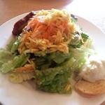 11801439 - 前菜:定番サラダのオードブル