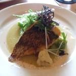11801441 - メインの魚料理:鯛のホニャララ