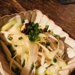 串もんDiningくしべえ - 枝豆と海鮮の冷し餃子
