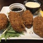 牡蠣酒場 すずきんち - カキフライは2個or4個でセレクト