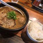 麺匠 るい斗 - 味玉醤油らーめん+小ご飯!