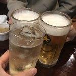 牡蠣酒場 すずきんち - 初めまして〜の乾杯w