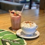 コナズ珈琲 - グアバジュースとモカキャラメル