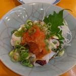 海鮮屋台 あみたつ - 炙りタコポン酢