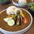 コウシャ - 料理写真:彩野菜とひき肉のカレー。