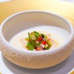 レストラン サンパウ - 白いんげんと野菜のエンペデラ