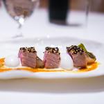 """レストラン サンパウ - 本鮪のたたき""""マレスメ風"""""""