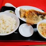 大連 - 焼き餃子定食(゜∇^d)!!