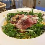 Light Up Dining Infinity - 完熟トマトと季節野菜のペペロンチーノ