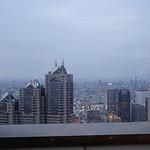 Cafe53 - 右奥に東京スカイツリー