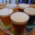 暁タップス - 暁ビール5種 テイスターセット