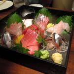 旬魚と個室 和食りん  - 刺身6点盛り