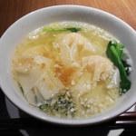 118038406 - 「ワンタン麺(小椀)」