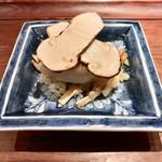 118038620 - 松茸と白甘鯛の飯蒸し