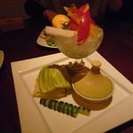茶蔵 - 旬野菜のバーニャカウダ