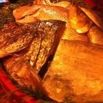 竹亭にしき - 本日のお魚たち