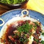 ゆうじ - 【2012.01.26】ハラミステーキとクレソンサラダ