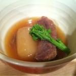 ゆうじ - 【2012.02.15】ほほ肉と大根の煮物