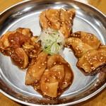 名物鶏ホルモン ひね屋 - 4種盛