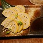 kyuushuuizakayaicchoumeichibanchi - カラシ蓮根